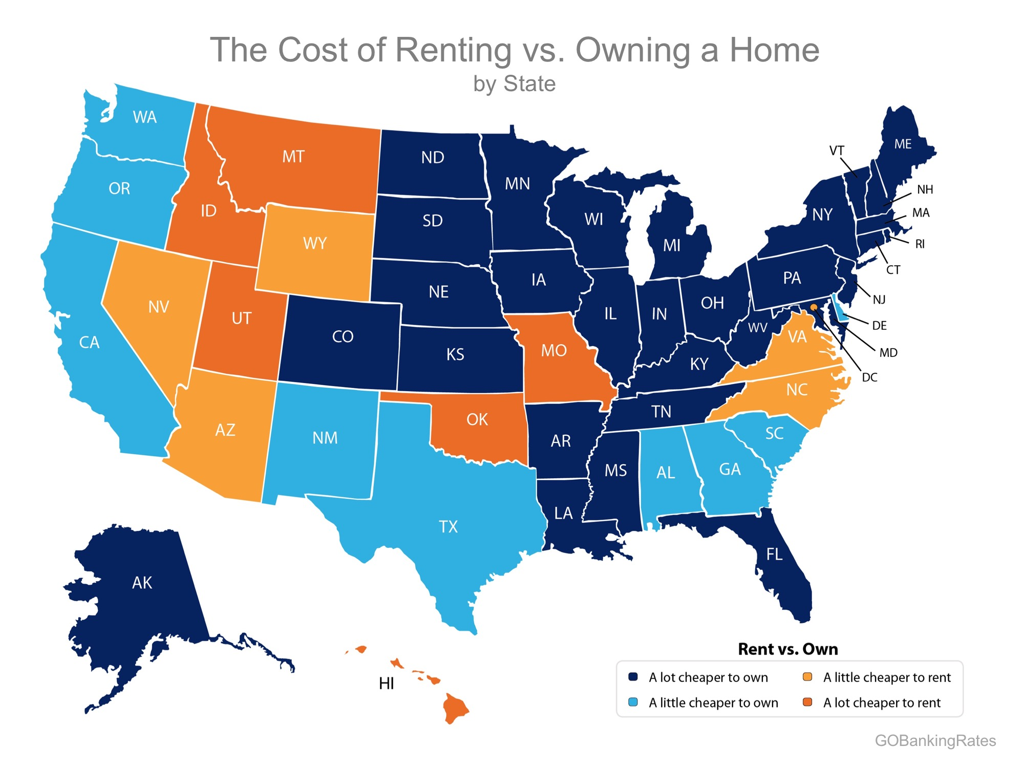 Buying Remains Cheaper Than Renting in 39 States! | Bridge Builders