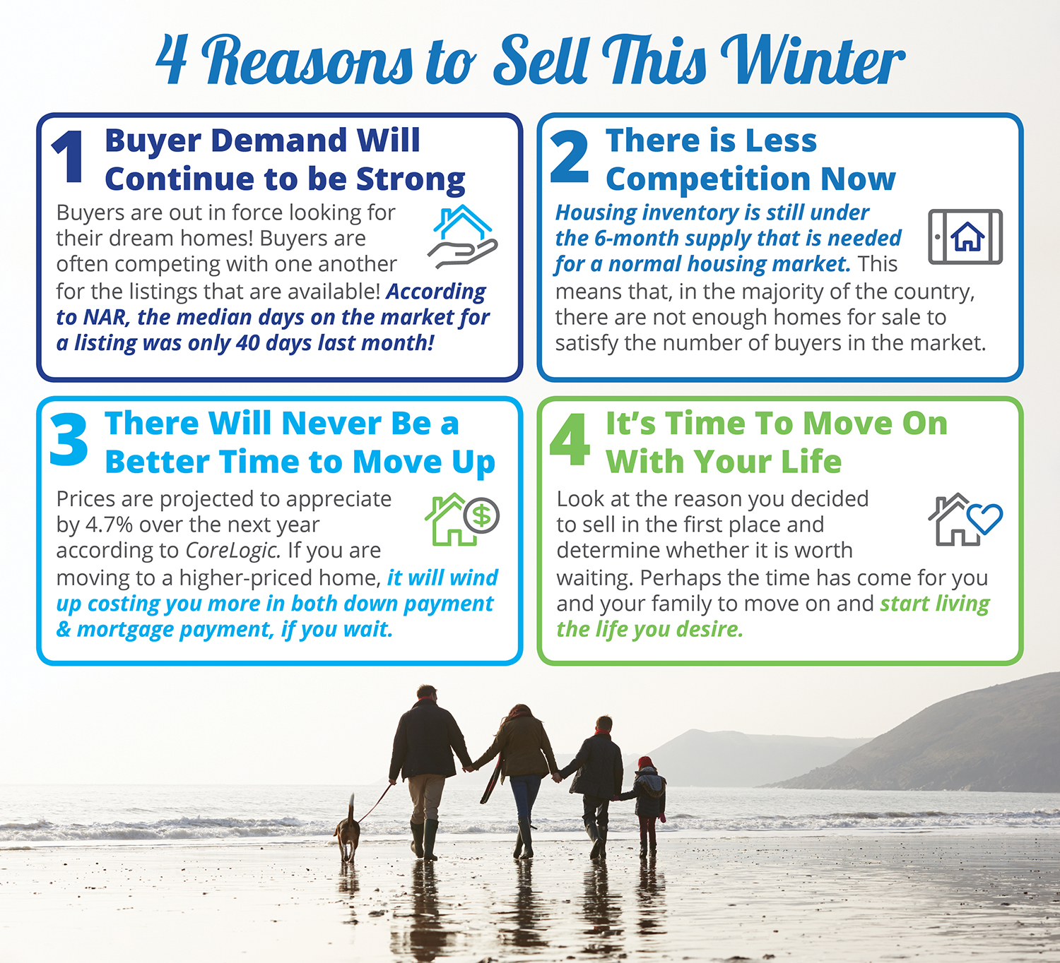 4 Reasons to Sell This Winter [INFOGRAPHIC] | Bridge Builders