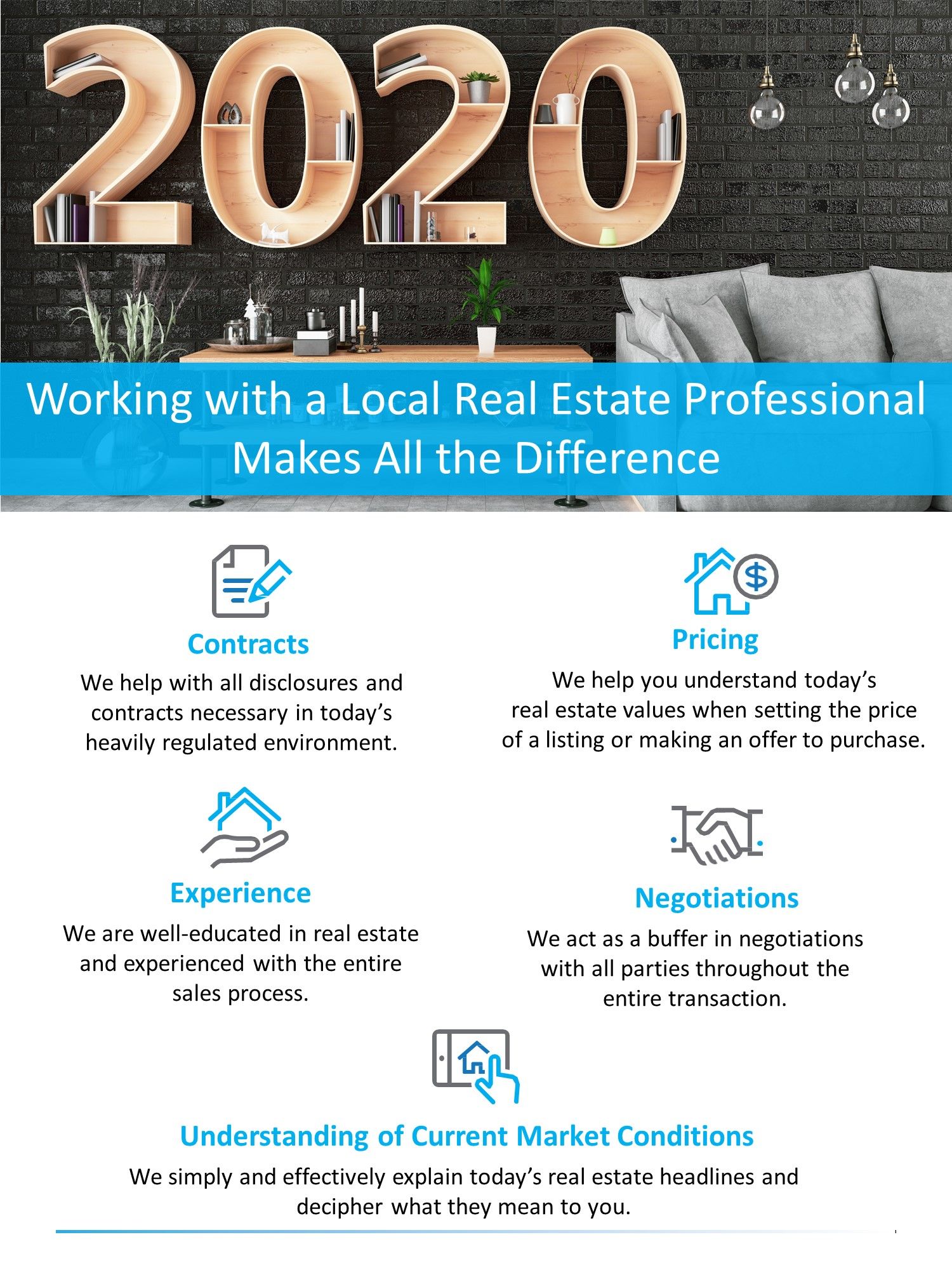 Working with a Local Real Estate Professional Makes All the Difference [INFOGRAPHIC] | Bridge Builders