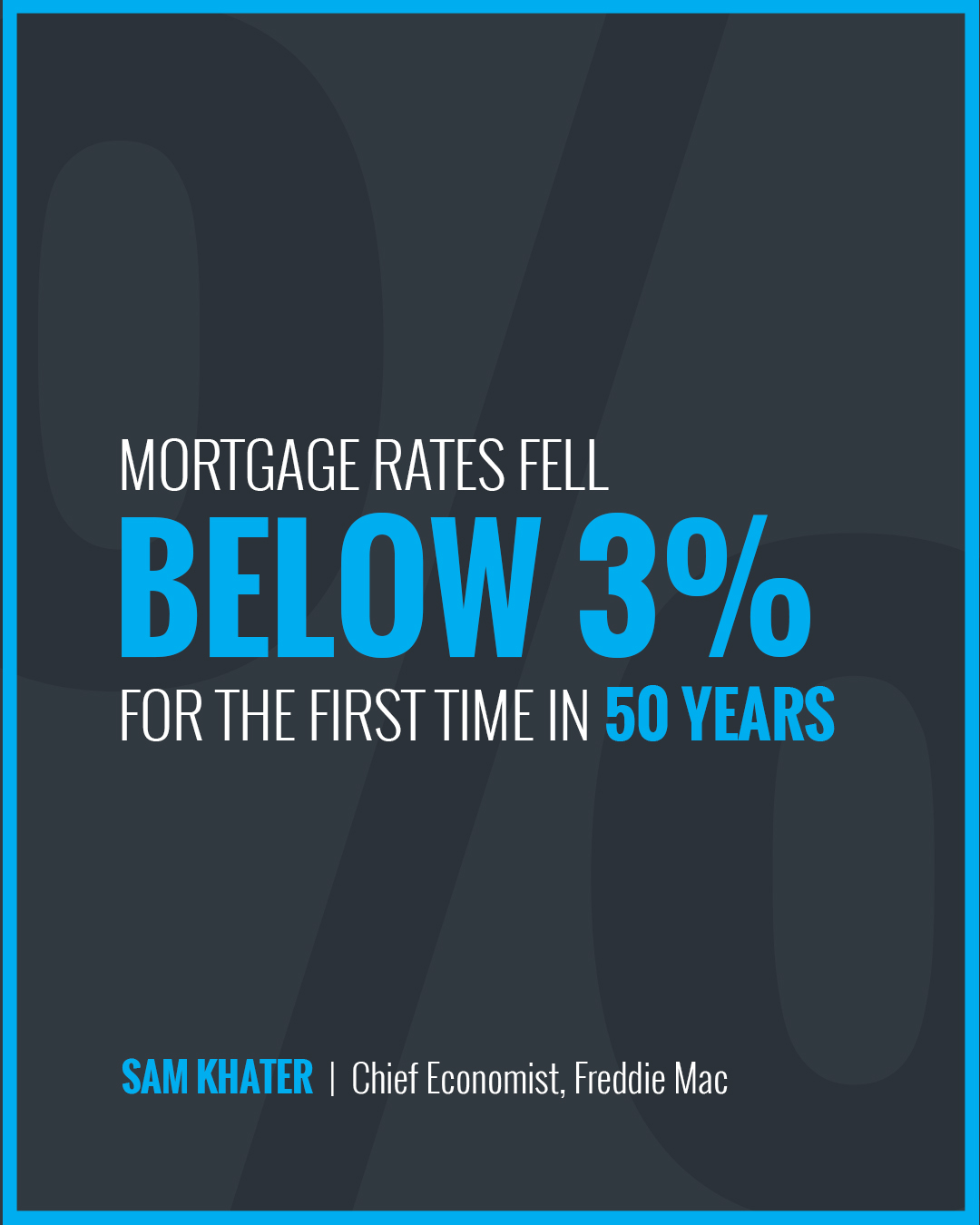 Mortgage Rates Fall Below 3% [INFOGRAPHIC] | Bridge Builders